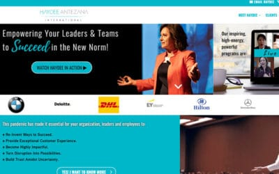 Featured Client: Haydee Antezana – Author, Corporate Keynotes & Workshops